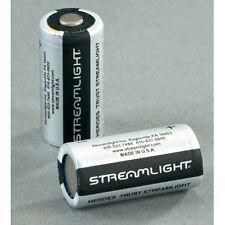 Streamlight CR123A 3V Lithium Batteries - 2 Pack #85175