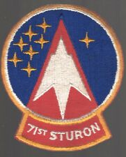 """USAF Air Force Patch:   71st Student Squadron - 4"""""""