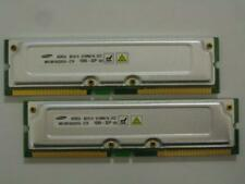 1GB 2x512MB Samsung RDRAM Rambus PC1066-32 1066-32P 4 Dell Gateway IBM Compaq HP