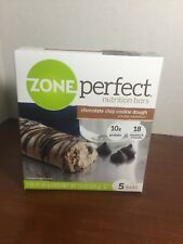 Zone Perfect Nutrition Bars Chocolate Chip Cookie Dough - 5 Bars