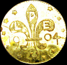 1904 Louisiana Purchase Gold 1/4 Size 10 Stars    ---- GEM BU++ PL  ---- #W940