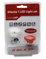 LED Fahrrad Licht Set Atlanta inkl Batterien NEU & OVP