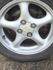 Mazda MX5 Miata Alloy Wheel Centre Caps Brand New