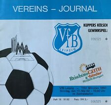 17.05.1992 VfB Leipzig (Lok Leipzig) - TSV 1860 München 2.Fußball-Bundesliga