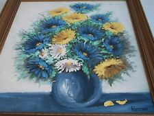 Floral oil painting by Renner