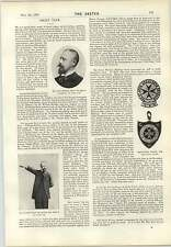 1897 Dr Otto Lecher Ambulance Badges Expedition East Africa