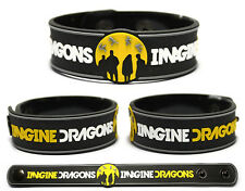 IMAGINE DRAGONS Rubber Bracelet Wristband Night Visions Radioactive