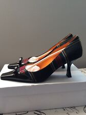 Moschino Women's Shoes Kitten Heel Size 37 Or 7 US