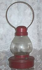 1924 Embury Conductor's Power Cell Lantern, Nice Glass, All Orig. Paint
