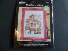 "Bucilla  ""Needlework Diva"" #WM45619 Cross Stitch"