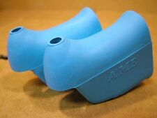 New-Old-Stock Brake Lever Hoods (Non-Aero)...Light Blue/Turquoise Color