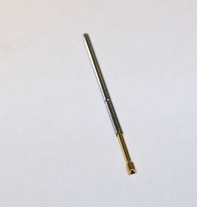 100 of interconnect IDI 100111-01 Contact Pin Test Probe Steel Gold Plated New
