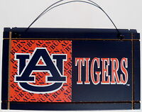 Auburn University Tigers College Licensed Wood Plaque Sign Sport Fan Team NCAA 2