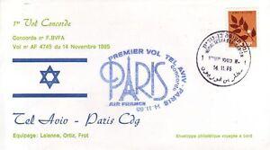 4031+ CONCORDE  VOL  TEL AVIV  PARIS