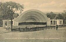 The Darius Miller Music Shell, Walnut Hill Park, New Britain, Connecticut CT