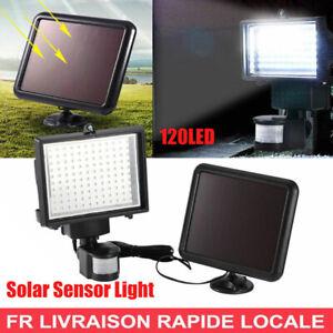 120LED Lampe  PIR Capteur Mouvement Projecteur Jardin Extérieur Eclairage