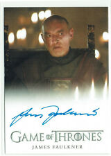 Game of Thrones Season 6 Autograph Card James Faulkner as Randyll Tarly