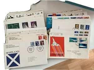 Royal Mail First Day Covers  Job Lot 150+ Bundle Great Deal