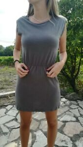 Kleid Anlass SESSUN Grau Größe Xs