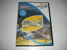 VFR AIRFIELDS Scotland Volume Vol. 1 Pc Add-On Flight Simulator Sim X FSX - NEW