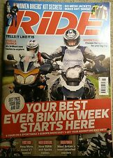 RIDE Issue JUNE 2012 Moto Guzzi V7 Aprilia SVR850 S1000rr BMW C600