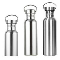 Stainless Steel  Double Wall Vacuum Insulated Flask Mug Water Bottles SH