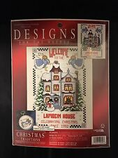~NEW~ DESIGNS FOR THE NEEDLE CELEBRATING CHRISTMAS COUNTED CROSS STITCH KIT NIP