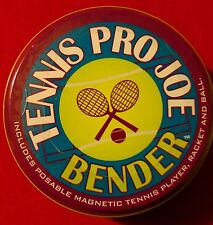 NEW OLD STOCK Hog Wild Tennis Pro Joe Bender Poseable Magnetic Figure