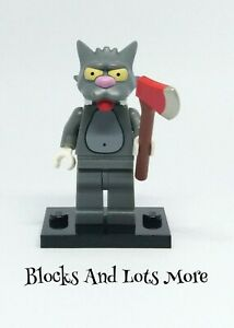 Lego Collectable Minifigure - The Simpsons Series 1 - Scratchy Cat Figure SIM020