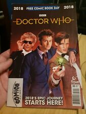 Doctor WHO Free Comic Book Day 2018 Comic