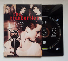 "THE CRANBERRIES ""LIVE"" RARE EUROPEAN SLIP CASE DVD / DOLORES O'RIORDAN"