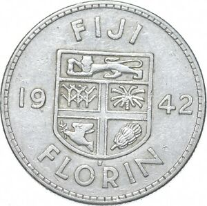 Better - 1942 Fiji 1 Florin - TC *183