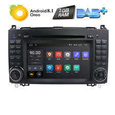 Android 8.1 MERCEDES-BENZ Sprinter A200 Car DVD Player GPS Navigation Radio RDS