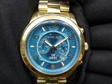 New Old Stock-MICHAEL KORS Hunger Stop MK8315 - Blue Dial Quartz Lady Watch