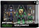 Batman vs TMNT Batgirl & Donatello Action Figure 2-Pack DC Collectibles