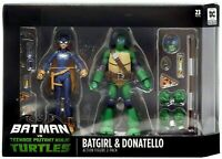 Batman vs TMNT Batgirl & Donatello Action Figure 2-Pack DC Collectibles