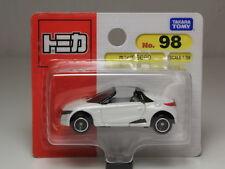 TOMICA NO.98 HONDA S660 MID ENGINE ROADSTER WHITE 1/56 TAKARA TOMY JAPAN