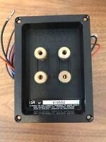 BOWERS WILKINS P4 Speaker Crossover Terminal Tray B&W Genuine ZZ03220 D