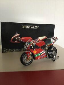 Ducati 996R Superbike Troy Bayliss 2001 Minichamps 1:12