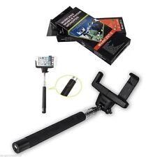 Ausfahrbarer Selfie Stab Einbeinstativ mit eingebauter Bluetooth Remote