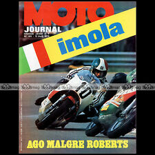 MOTO JOURNAL N°165 HUSQVARNA 500 CROSS GP FANTIC 50 CABALLERO KENNY ROBERTS 1974