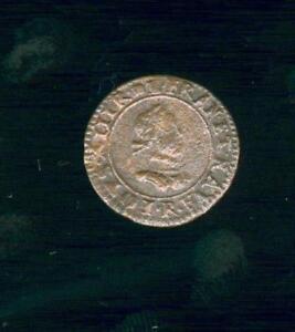 Denaro Tornei Luigi XIII San Andre Della Villeneuve I Avignon 1618