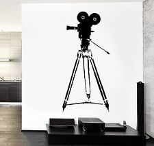 Wall Vinyl Decal Camera Movie Hollywood Cool Actor Amazing Decor z3764