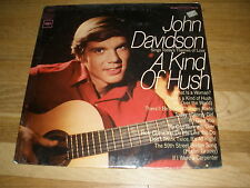 JOHN DAVIDSON a king of hush LP Record - Sealed