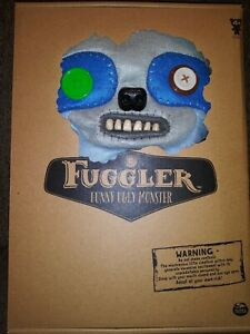 "FUGGLER 12"" ""Sickening Sloth"" BLUE Deluxe Felt 12"" Monster with Claws New In BOX"