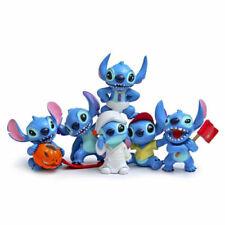 6Pcs Disney Studio Lilo & Stitch Figure Toys Collectible Kids Chrismas Gift New