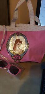 Vintage Disney Beauty and the Beast  Bag Handbag With Sunglasses  LOOK!