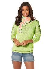 Damen- Pullover von Kangaroos  Gr. 36/38 neon yellow