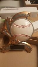 """Baseball plaque/ trophy, 8.5"""" tall x 7"""" wide, with personalized engraved plate"""