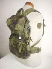 CZECH ARMY orig Vz95 green camo RECONNAISSANCE TROOPS BACKPACK  inv#477